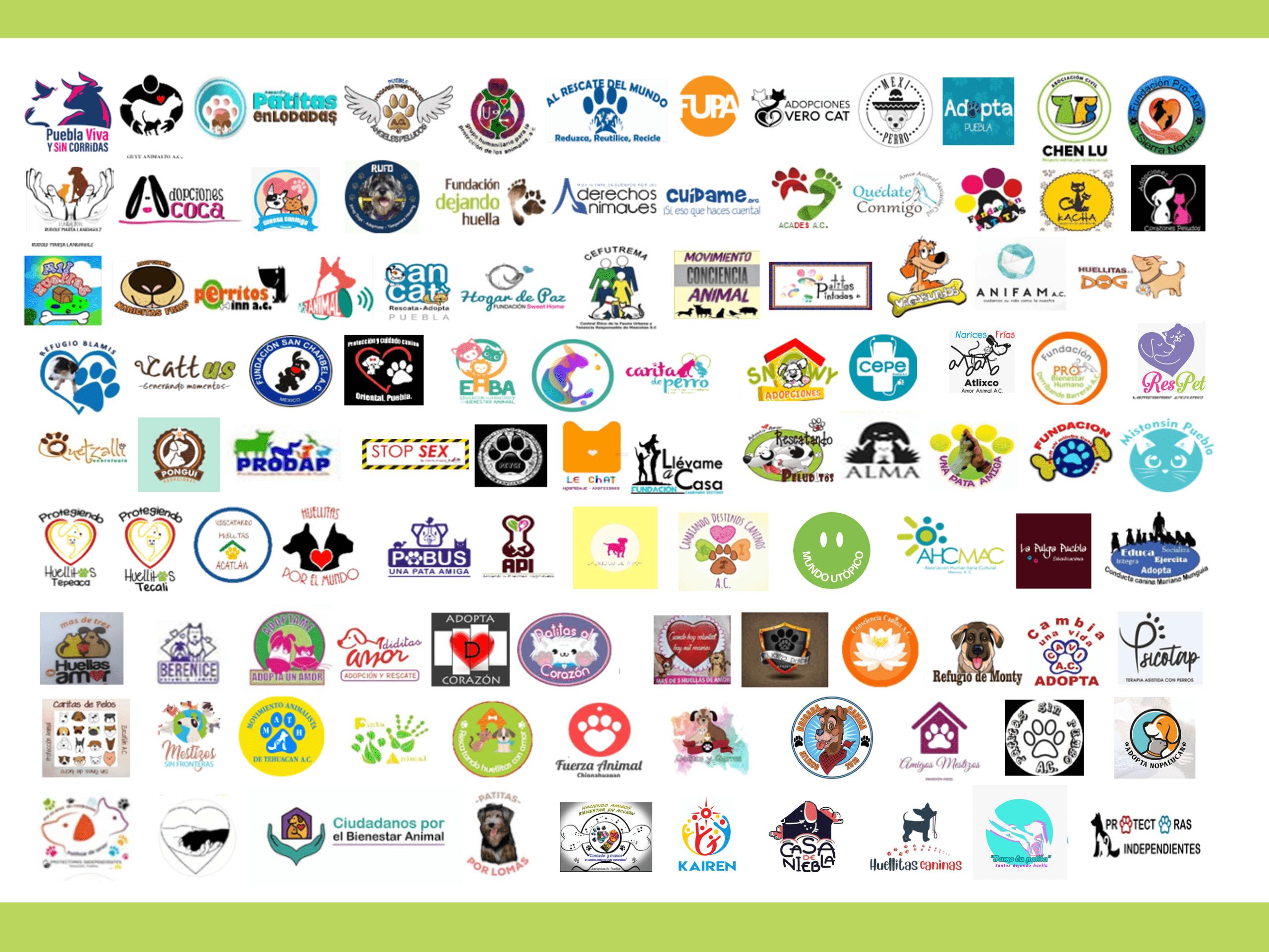 Asociaciones Miembro del Movimiento Animalista de Puebla